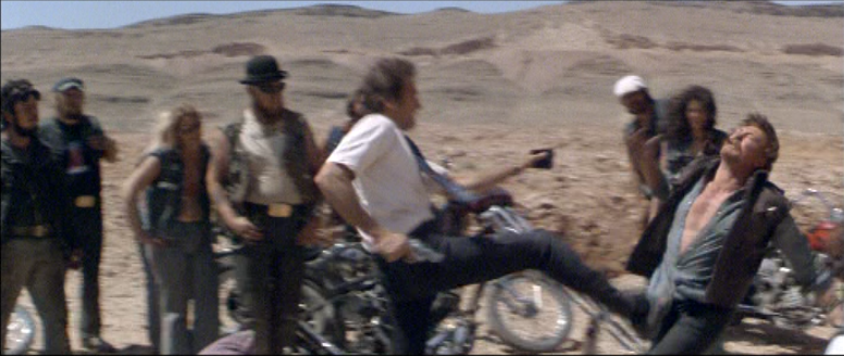 Clint Eastwood Kicking Some Guy in the Crotch. The Gauntlet.