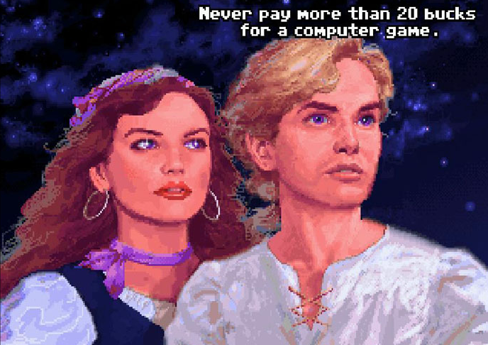 Guybrush Never Pay More Than