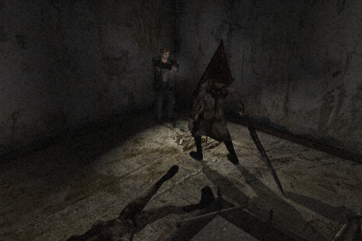 Silent Hill 2 PC Pyramid Head Fight