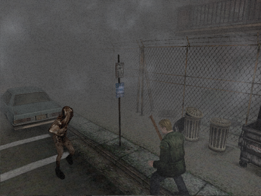 Silent Hill 2 PC Town Fog Gameplay