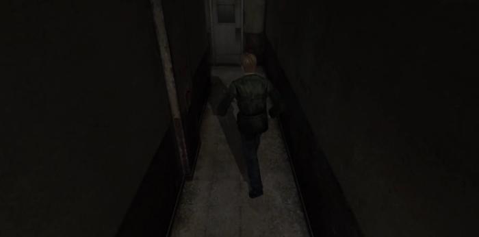 Silent Hill 2 Hotel Elevator Corridor