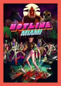 Hotline Miami Logo Poster