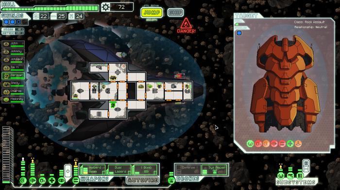 FTL Game Asteroid Field Nesario