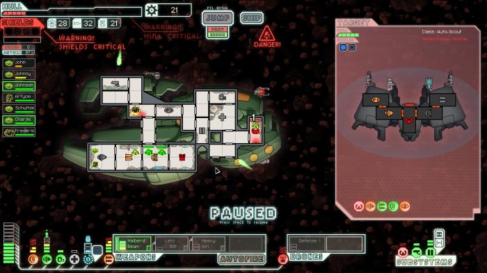 FTL Game Zoltan Ship