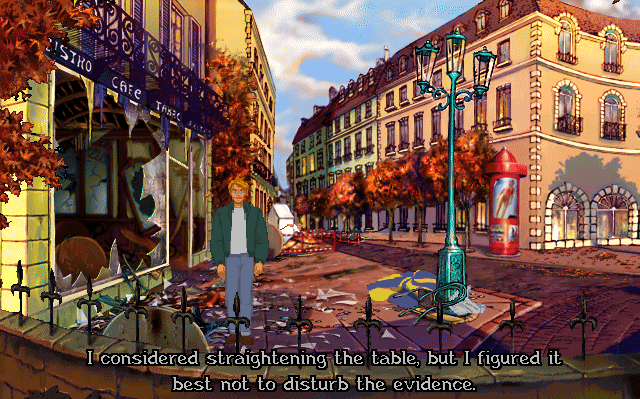 Broken Sword Templars Cafe Gameplay