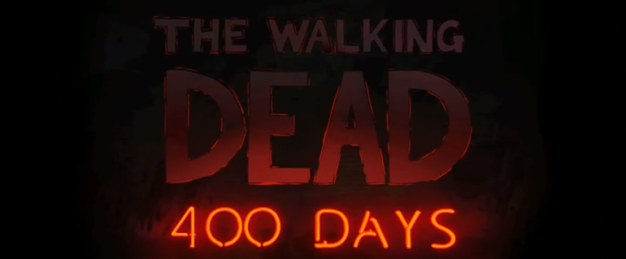 The Walking Dead 400 Days Logo