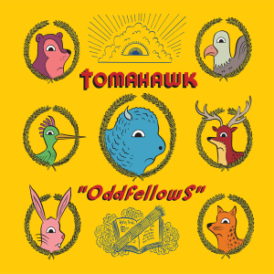 Tomahawk Oddfellows Album Cover Artwork