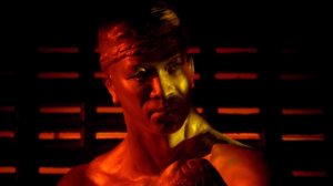 Only God Forgives Header Statue